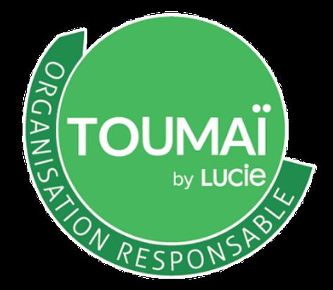 Logo de labellisation RSE Toumaï by LUCIE