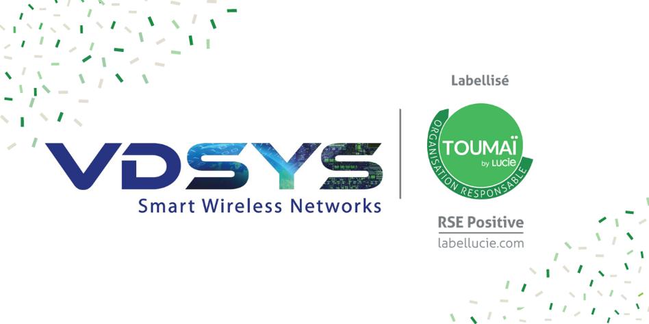 Label RSE Positive pour VDSYS Toumaï by LUCIE