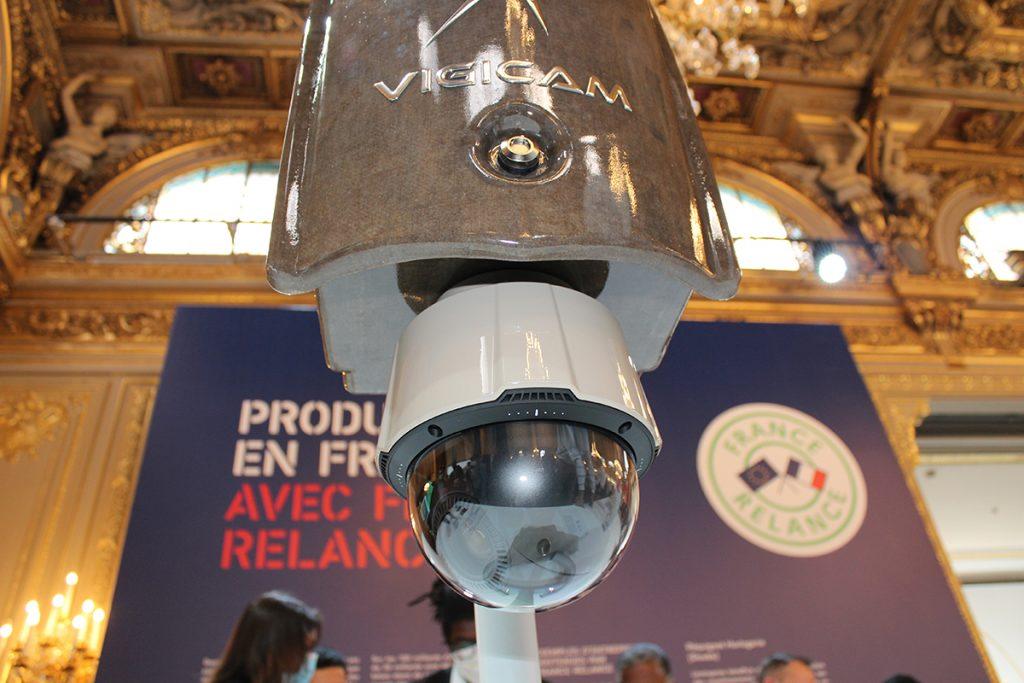 VIGICAM II par VDSYS à la grande exposition du fabriqué en France à l'Élysée, vue de dessous