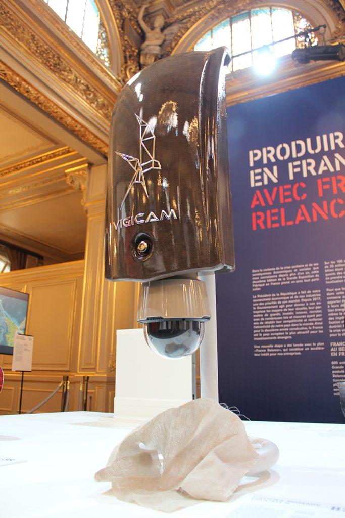 Système nomade de surveillance VIGICAM II par VDSYS à la grande exposition du fabriqué en France à l'Élysée