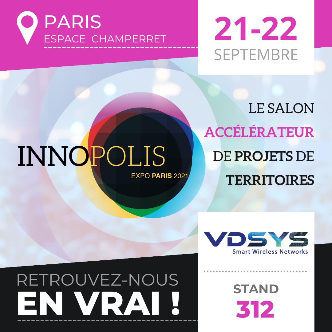 VDSYS sera present au salon Innopolis 2021
